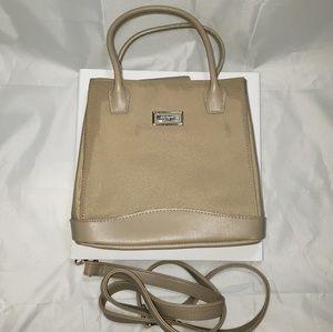Rosetti shoulder bag beige detachable strap